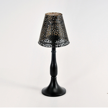 Vista Votive Lamp Stand - @home by Nilkamal, Black,  black