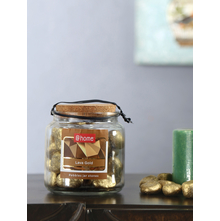 Big Stone Pebbles Jar, Gold