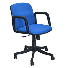 Nilkamal Lead Low Back Office Chair, Blue