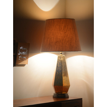 Concept Glass Ombre Table Lamp, Gold