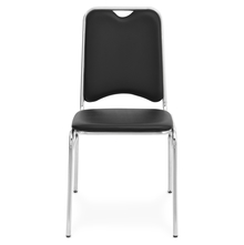 Nilkamal Contract-05 Chair Soft Pvc Without Arm,  black