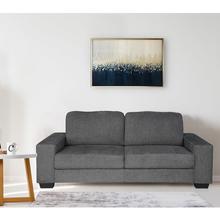 Asher 3 Seater Sofa, Dark Grey
