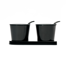 Condiment Set of 2 - @home by Nilkamal, Black