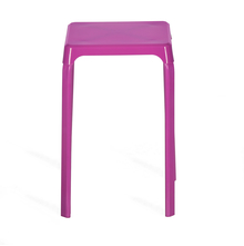Nilkamal Rockway Stackable Stool, Purple