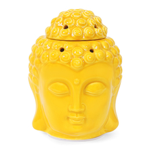 Buddha Electrical Diffuser 11 cm x 10 cm x 14 cm - @home by Nilkamal, Yellow