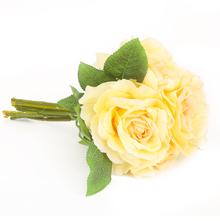 Bella Rose 30 cm Flower Stick - @home by Nilkamal, Yellow