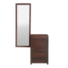 Rigato Dresser with Mirror, Walnut