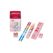 Cindrella 7 Pieces Stationery Gift Set, Pink