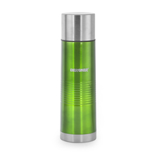 Bergner Stainless Steel Vaccuum Flask with Bag - Green