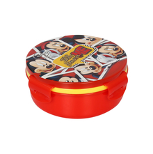 Mickey Round Lunch Box, Red