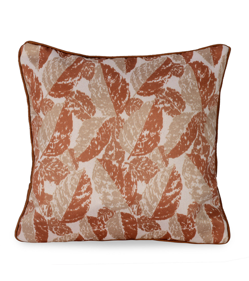 E Leaf 30 x 30 cm Cushion Cover Set of 2 - @home by Nilkamal, Maroon