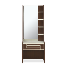 Maverick Dresser With Mirror, Walnut