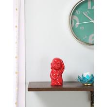 Baby Monk 1 Bold Effect 15CM Showpiece, Red