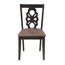 Luther Dining Chair - @home by Nilkamal, Antique Oak