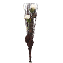 Solitary Medium Wicker Bunch - @home by Nilkamal, Beige