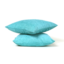 Moshi 60 cm x 60 cm Cushion Cover Set of 2 - @home by Nilkamal, Sea Green
