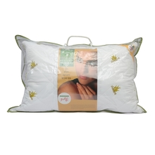 Aloe Vera 46 cm x 69 cm Pillow - @home by Nilkamal, White
