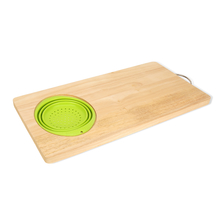 Chopping Board 50 cm x 25 cm with Collan - @home by Nilkamal, Multicolor