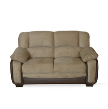 Mimosa 2 Seater Sofa - @home by Nilkamal, Honey Brown