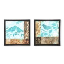 Birds Painting - @home by Nilkamal, Set of 2