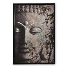 Enchanted Buddha Picture Frame - @home by Nilkamal, Sea Green