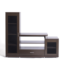 Roger Wall Unit - @home by Nilkamal,  dark walnut