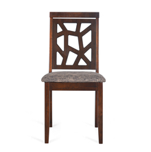 Nilkamal Dona Dining Chair, Walnut