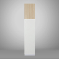 Fusion 1 Door Wardrobe - @home by Nilkamal, White