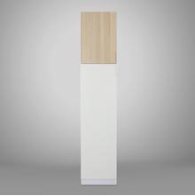 Fusion 1 Door Wardrobe - @home by Nilkamal, White