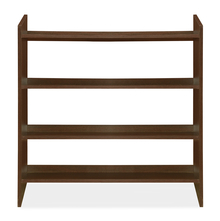 Owen Shoe Rack - @home by Nilkamal, Dark Walnut