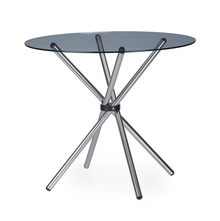 Nilkamal Indiana Round Dining Table Clear
