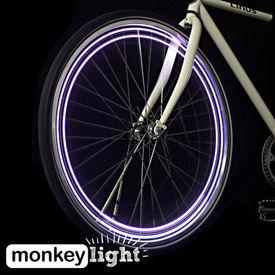MonkeyLectric Monkey Light M204 Bicycle / Cycle Wheel Lights-04 LED- 5Patterns