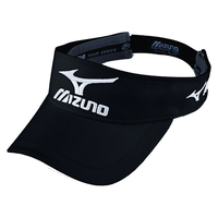 Mizuno Tour Adjustable Visor - Black,  black