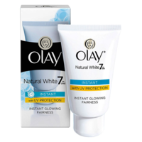 Olay Natural White Instant Glowing Fairness Face Cream, 40 gm