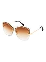 Honey Bee Sunglasses (Gradient Brown Lens)