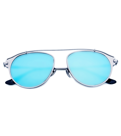 Bring On The Sun Sunnies (Blue Reflective)
