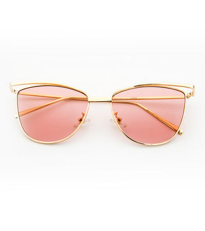 Purr-fect Cat Eye Sunnies (Light Pink Lens)