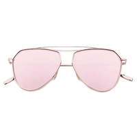New Age Aviator Sunnies (Rose Gold)