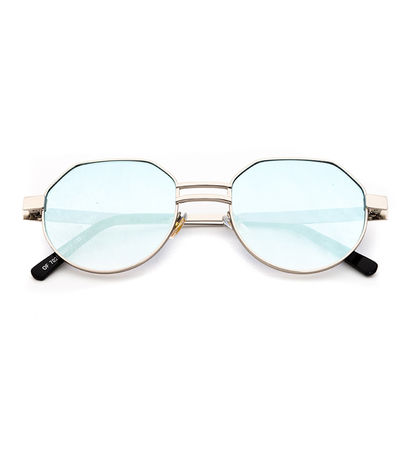 Stargaze Sunnies (Blue Reflective)