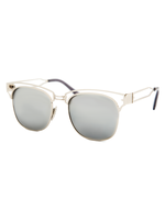 Square Silver Mirror Sunnies