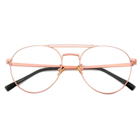 Babe Business Pink Aviator Frame