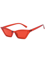 Kylie Micro Cat Eye Red Sunglasses