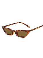 Lash Line Micro Animal Print Sunglasses