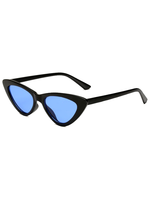 Gigi Cat Eye Blue Lens Sunglasses