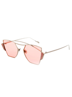 Show Stopper Sunnies (Light Pink Lens)