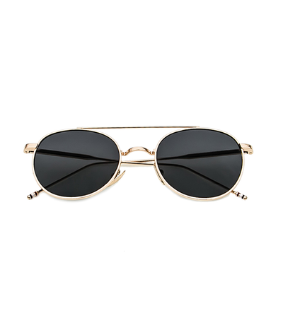Round The Block Sunnies (Black Lens)