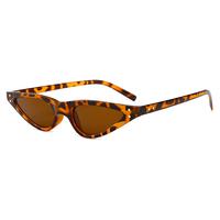 Paris Micro Animal Print Sunglasses