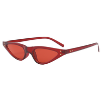 Paris Micro Red Sunglasses