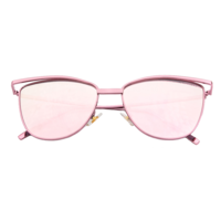 Purr-fect Cat Eye Sunnies (Pink Reflective)