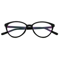 Black Cat Eye Frame